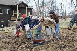 BlueHeronMinistries_Pokagon Prairie Planting_Fall 2014 (26)