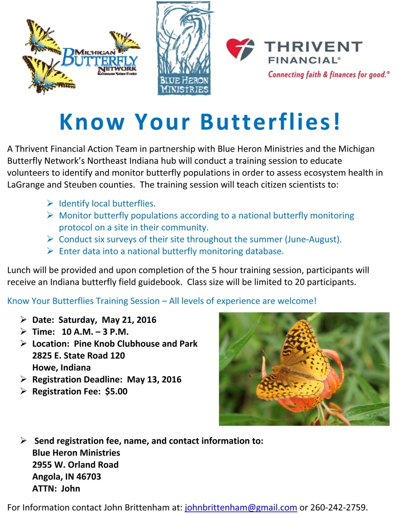 Butterfly Monitoring Flyer